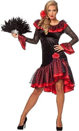 Disfraz de mujer española, talla 36 - 48: Amazon.es: Juguetes y juegos
