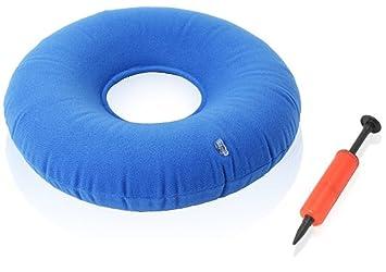 Sichun inflable Donut cojín cómodo para hemorroides, alivio ...