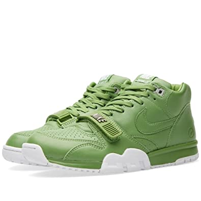 97be053df871ec Nike Mens Air Trainer 1 Mid SP Fragment Chlorophyll Green White Leather  Size 9.5