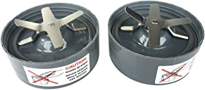 2 Extractor Blade replacement for Nutribullet replacement blade with Gasket by 4blender