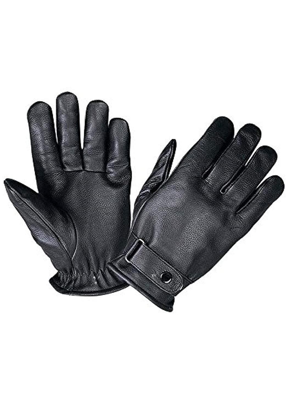 Unik International Mens Full Finger Leather Gloves XL