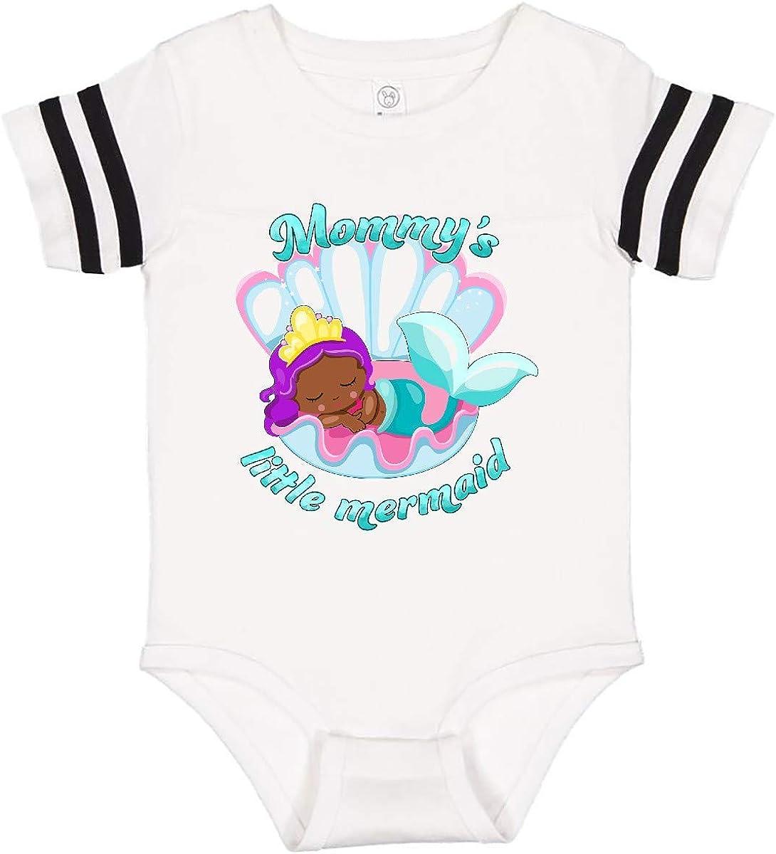 inktastic Mommys Little Mermaid Infant Creeper