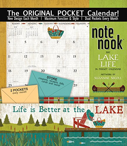 The Lang Wells Street by Lang 2017 Lake Life Note Nook, J...