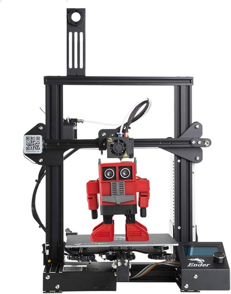 Comgrow Creality Ender 3 3D Printer Aluminum DIY with Resume Print 220 220 250mm