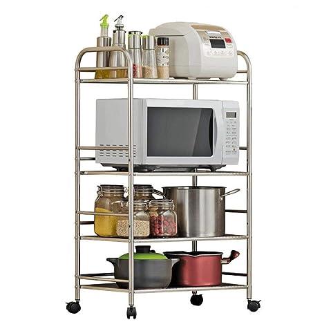 Amazon.com: DDSHELF - Organizador de horno de 4 capas para ...