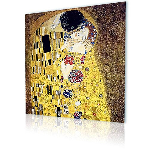 Alonline Art - The Kiss Gustav Klimt PRINT On CANVAS (Synthetic, UNFRAMED Unmounted) 12
