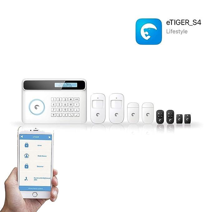 Etiger S4-C EU - Sistema de vigilancia de seguridad inalámbrica: Amazon.es: Bricolaje y herramientas