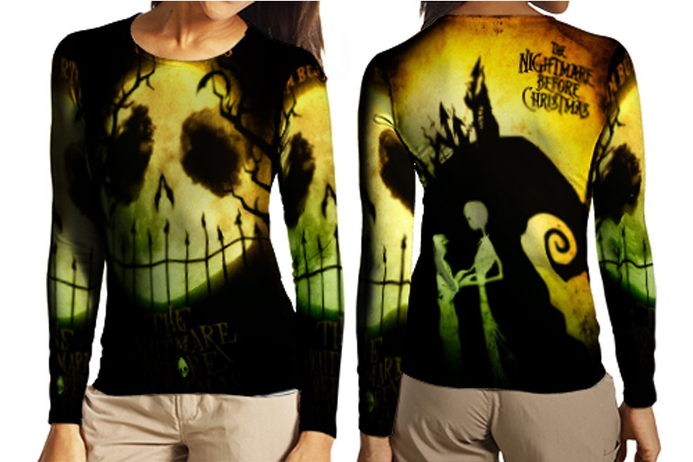 Longslave Large Jack Skellington Fashion Women Art 4