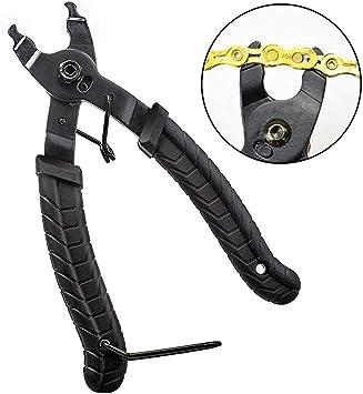 Kit de herramientas de reparación de bicicletas, Alicates de cadena de bicicleta, alicates de cadena de bicicleta Desaparecer el abrelatas Removedor de más cerca Herramienta de cadena de alicates / bi: Amazon.es: