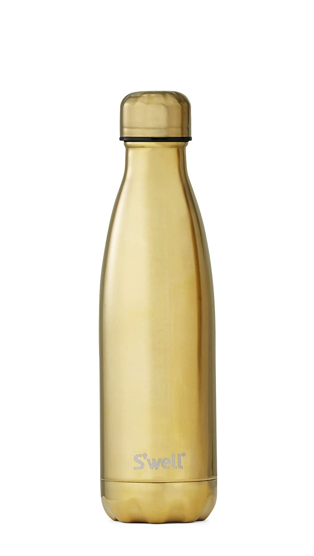 Swell Herren Damen 17 oz metallischen Flasche Gold B015X3BB0Q Thermosflaschen