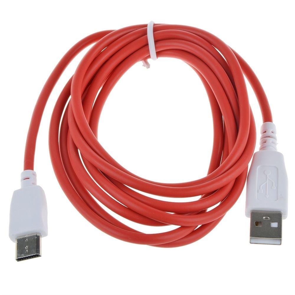 Amazon.com: 2 M 6.5 ft Cable de datos de carga de ...