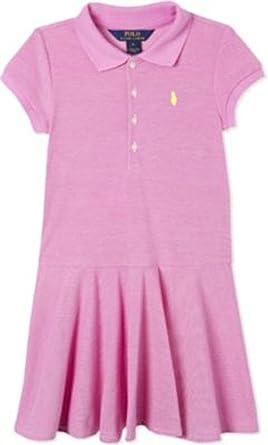0faa13e0c8 Amazon.com: Ralph Lauren Big Girl Mesh Cotton Short Sleeve Polo ...