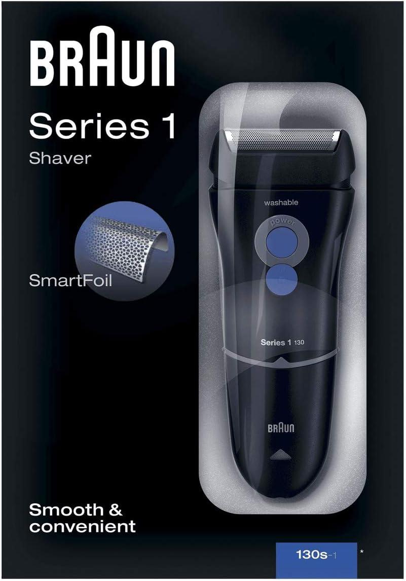 Braun Series 1 130 S-1 - Afeitadora eléctrica para hombre, máquina ...