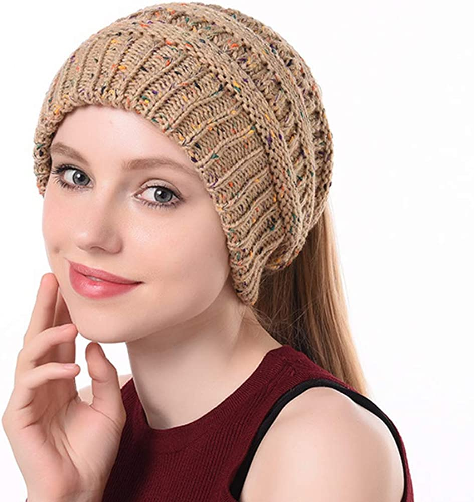 Knitted Ponytail Beanie...
