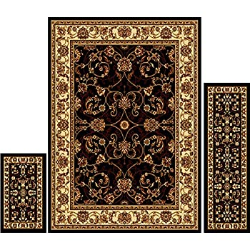 Amazoncom Home Dynamix Area Rugs Ariana Collection 3Piece