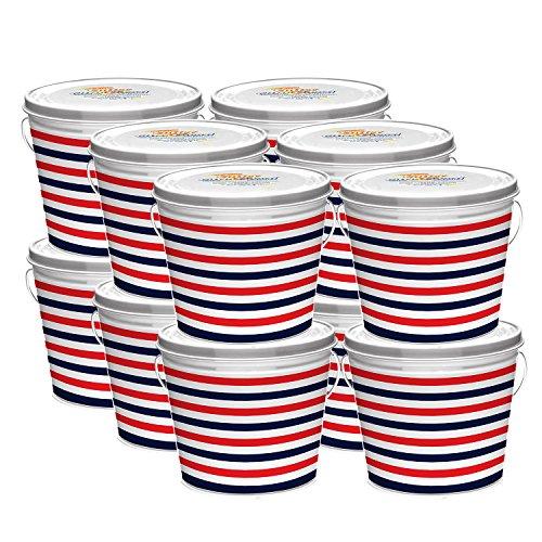 Cutter Citro Guard Candle, Bucket, American Stripe, 17-Ounce