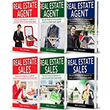 Real Estate Agent: 6 Books in 1: Real Estate Agent (3-Book Series) & Real Estate Sales (3-Book Series) Audiobook by Alex Johnson Narrated by Pete Beretta