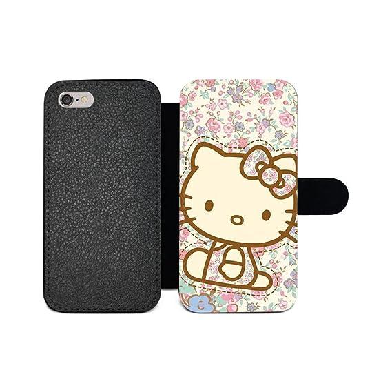 f87d01f09 GSPSTORE Samsung Galaxy J7 2016 Wallet Case,Hello Kitty Pattern Design  Premium PU Leather Flip