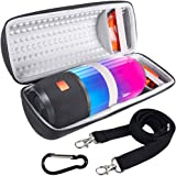 COMECASE Hard Travel Case for JBL Pulse 3 Wireless Bluetooth IPX7 Waterproof Speaker [ Fits USB Plug and Cable & More ]
