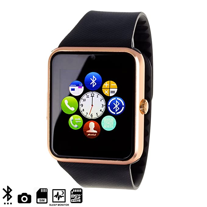 DAM - Gt08 Bluetooth Watch: Amazon.es: Electrónica