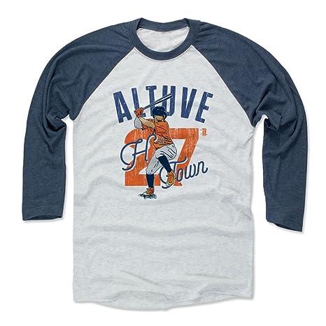 size 40 fe390 957cc 500 LEVEL Jose Altuve Baseball Tee Shirt - Houston Baseball Raglan Shirt -  Jose Altuve Arch
