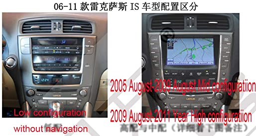 12.1 Quadcore Car DVD player 1280×768 Car Vertical Screen Tesla style 32GB ROM Stereo GPS Navigation for Lexus IS 250 2006-2011 Year 0Only 7-15 Business Days Shipping Time