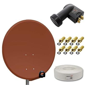 Sistema de antena parabólica digital HD de PremiumX, antena ...