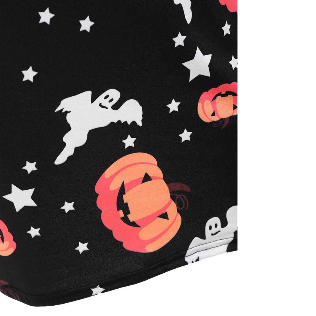 Vestido Mini Calabaza Negra de Halloween, Covermason Fantasma de Lima de Lujo de Manga Larga de Halloween Colgante de Lima: Amazon.es: Ropa y accesorios