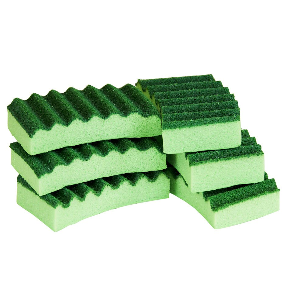 2052211 Quickie Long Lasting Heavy Duty Scrubber Sponge 3 Pack
