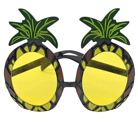Kongqiabona Gafas de Sol de piña Novedad Estilo Hawaiano de ...
