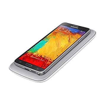 Samsung EP-WN900EBEGWW - Pack de carga por inducción para Galaxy Note 3 (Cargador y tapa trasera), negro- Versión Extranjera