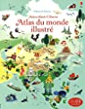 Atlas du monde illustré - Documentaires en autocollants par Lake