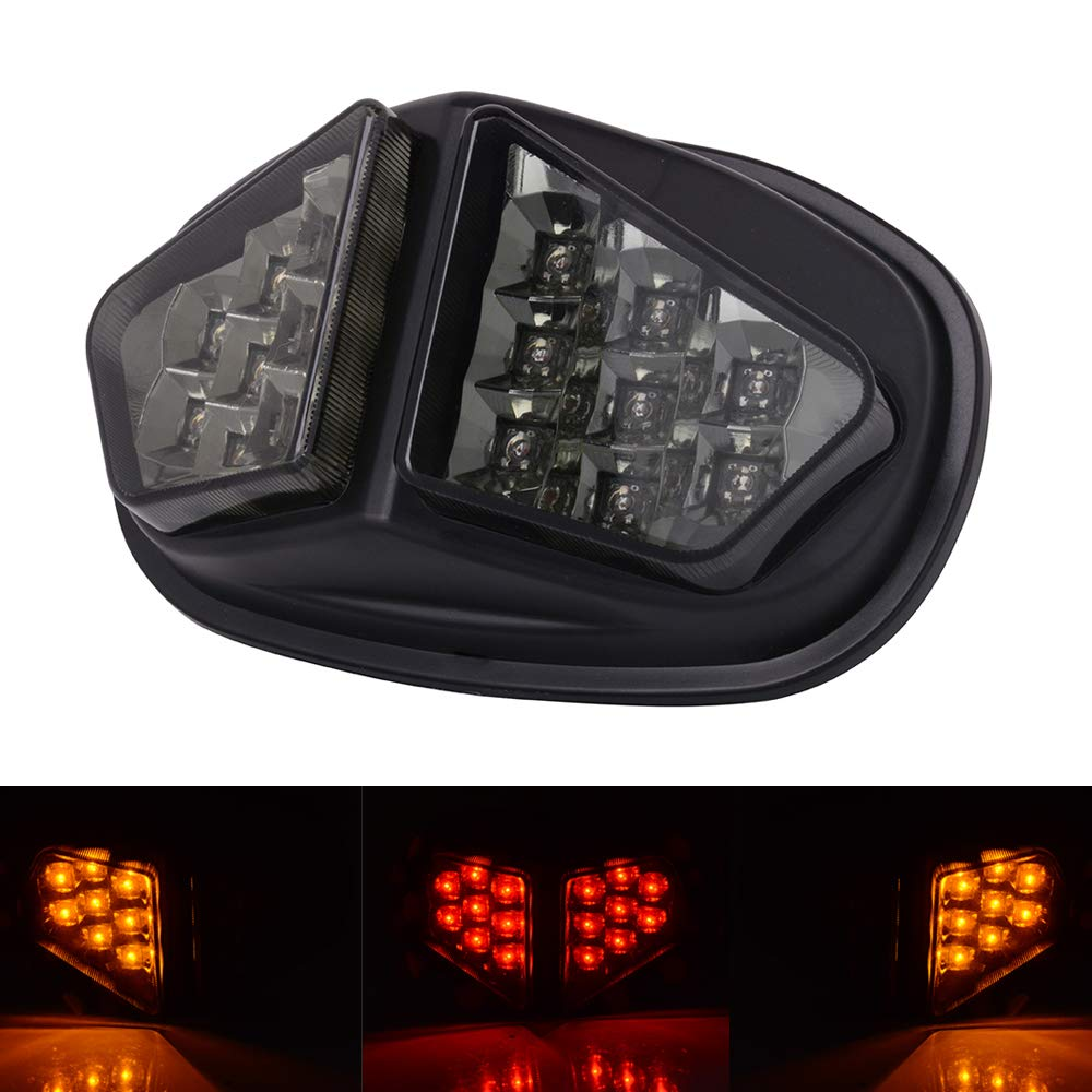 AnXin Motorcycle Rear Tail Light Integrated LED Brake Signal Lights For Triumph Daytona 600/650 2004-2005