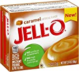 JELL-O Caramel Instant Pudding and Pie Filling Mix, 3.4 Ounce (Pack of 24)