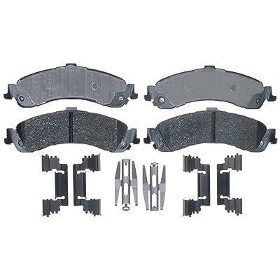 ACDelco 17D834CH Professional Ceramic Rear Disc Brake Pad Set: Automotive