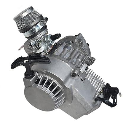 Amazon com: WPHMOTO 49cc 2-Stroke Motor Engine Kit for