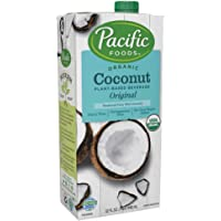 Pacific Foods Organic Coconut Original Plant-Based Beverage, 32oz, 12-pack