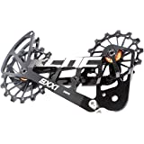 KCNC Road Cycling Bike Oversized Pulley System Cage for Shimano r9100//r8000 Gold