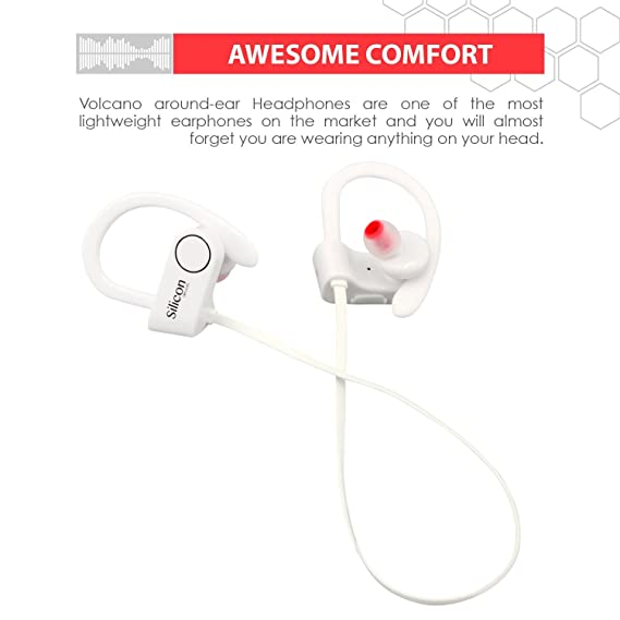Amazon.com: Silicon Devices Wireless Bluetooth Earbuds for Running - Sports Sweatproof Workout Headphones: Home Audio & Theater