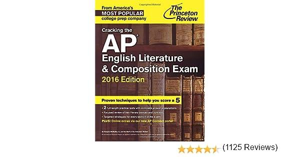 Amazon.com: Cracking the AP English Literature & Composition Exam ...