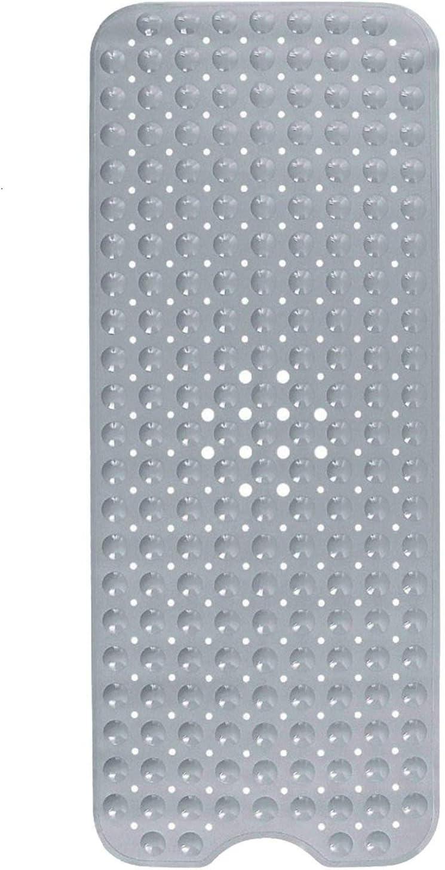 HausFine Alfombra Antideslizante de Baño, Alfombra para Bañera Antideslizante Alfombrilla de Baño con 200 Potentes Ventosas para Cuarto de Baño 100 x 40 CM