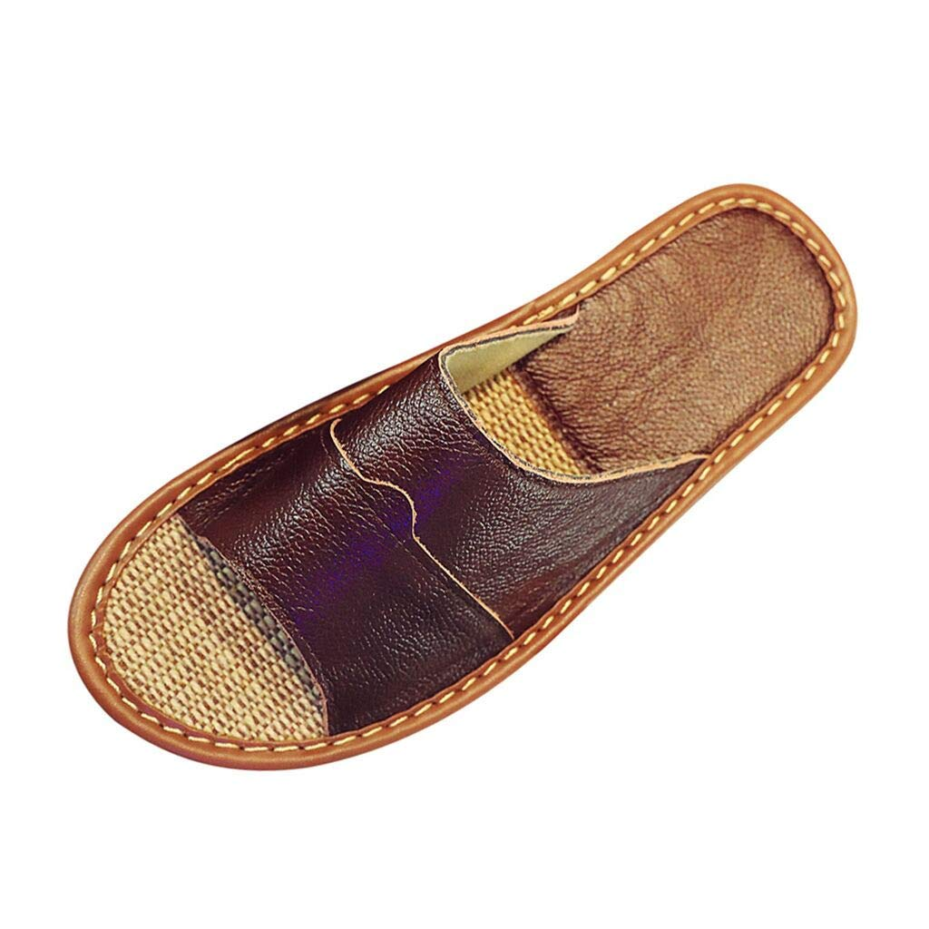 Summer Men's Indoor Home Household Sandals Non-Slip Slippers Fashion Slippers