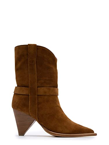 8dfcf19c55a7 Image Unavailable. Image not available for. Color  ALDO CASTAGNA Women s  Desi14080brown Brown Suede Ankle Boots