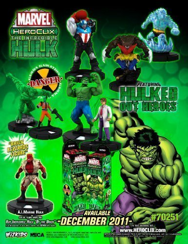 Neca Wizkids HeroClix Marvel - Incrotible Hulk Booster Brick (10ct) by Incrotible Hulk