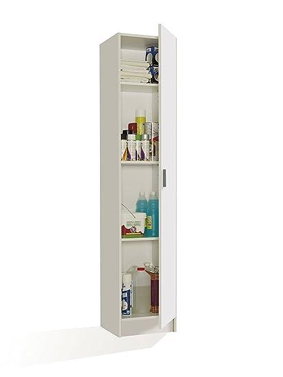 FORES - 007141O - Mueble armario multiusos, 1 puerta, color ...