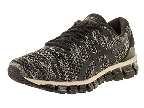new product 3ff08 b3030 ASICS Gel-Quantum 360 Knit 2 Men s Running Shoe, Feather Grey Black,