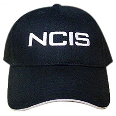 8711b099f45 Image Unavailable. Image not available for. Color  NCIS Special Agents Logo  Black Cap Adjustable Hat
