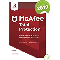 McAfee 2019 Total Protection|3 Devices|PC/Mac/Android/Smartphones|Activation code  by post