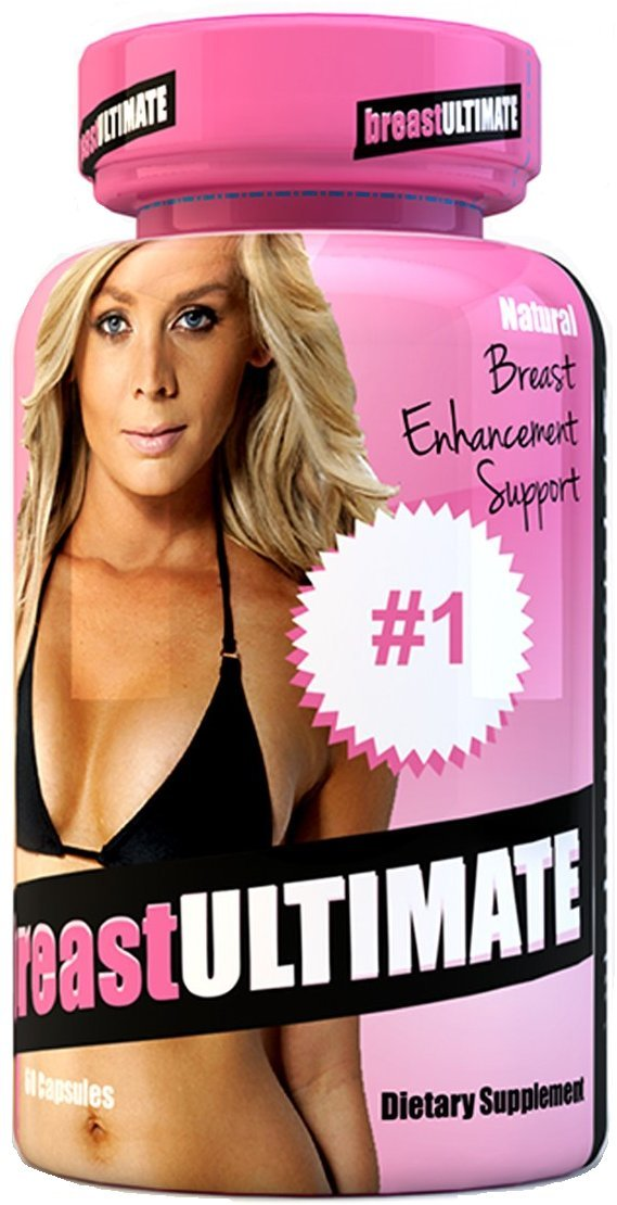 breastULTIMATE Female Breast and Butt Enhancement Formula All Natural Enlargement Pills 60 Capsules