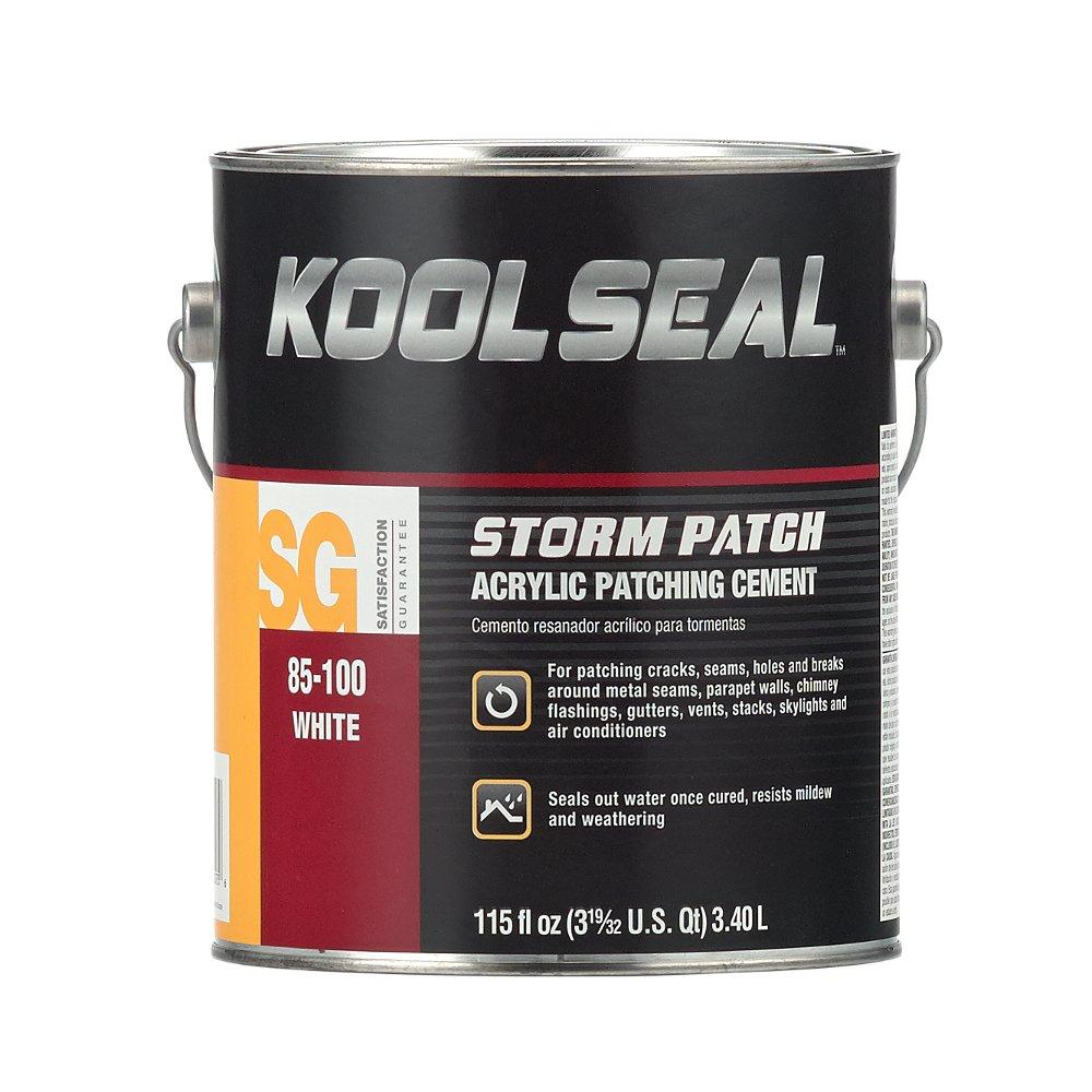 KST COATING KS0085100-16 White Roof Patch, 0.9 Gallon by Kst Coating (Image #1)